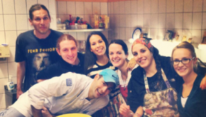 Participation in Youth in Action program: Cooking – a Reflection of Culture